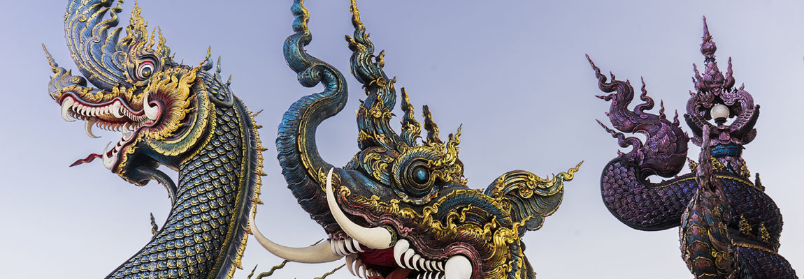 Tailandia ruta norte: bienvenidos al lugar de los dragones y templos
